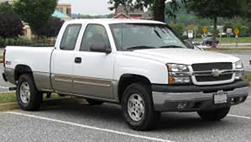 Tracing 2003 Chevrolet Silverado Cam Sensor Connection