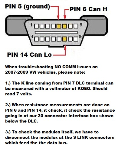 2007 2009 VW Bus COMM issues use a voltmeter to help you fix no communication bus wiring 77 VW Van Wiring Diagram at readyjetset.co