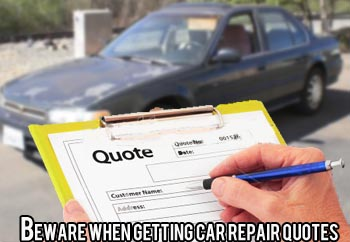 Car Repair Quote Best How To Get A Car Repair Quote Done Right